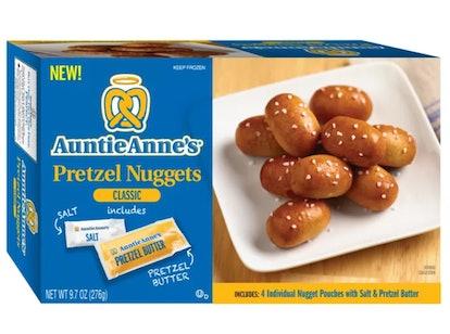 Auntie Anne's Classic Pretzel Frozen Nuggets - 4pk/9.7oz