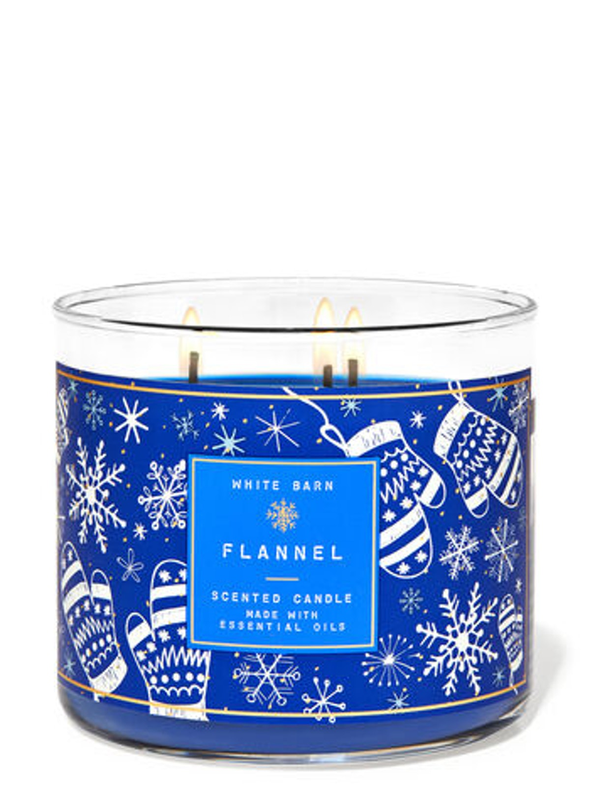 Flannel 3-Wick Cande
