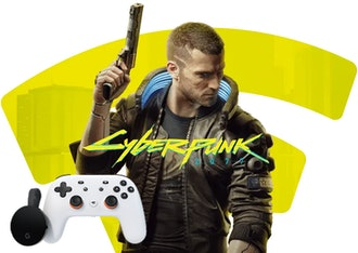 'Cyberpunk 2077' with Stadia Premiere Edition