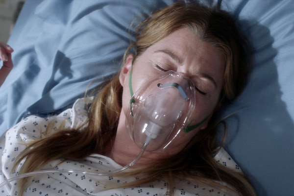 Ellen Pompeo as Meredith Grey in 'Grey's Anatomy' Season 17.