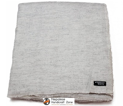 Handicraft Mart Himalayan Cashmere Throw