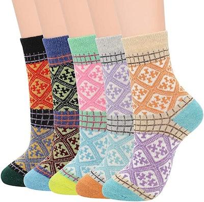 Zando Knit Socks (5-Pack)