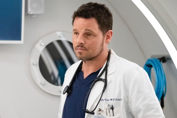 "Justin Chambers played Alex Karev in ""Grey's Anatomy."""