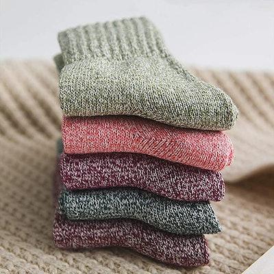 Double Couple Crew Socks (5-Pack)