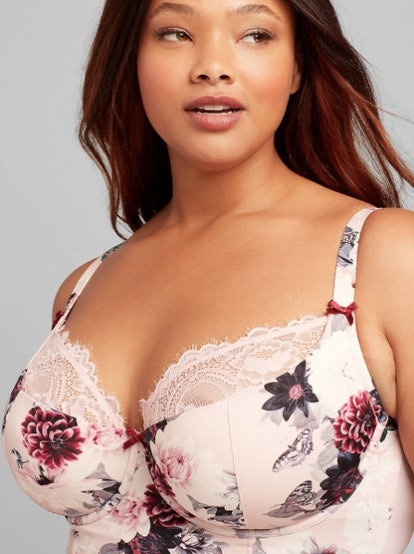 Longline Lightly Lined French Balconette Bra