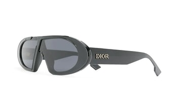 Dior Oblique oval-frame sunglasses
