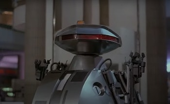 'Chopping Mall' sci-fi horror movie