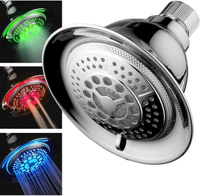 DreamSpa Color-Changing Shower Head