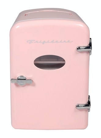 Portable Retro Extra Large 9-Can Mini Fridge