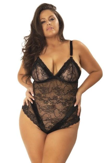 Aimee Plus Size Bodysuit