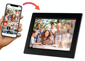 Wi-Fi FRAMEO APP Control Digital Cloud Picture Frame