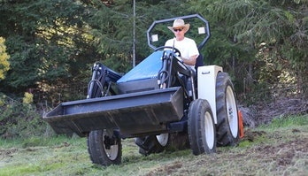 The eUtility electric tractor is a fully-electric tractor built in the United States.