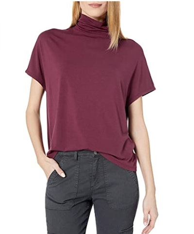 Daily Ritual Soft Rayon Slouchy Top