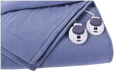 SoftHeat by Perfect Fit Micro-Fleece Electric Heated Blanket (Queen)