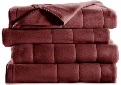 Sunbeam Quilted Fleece Heated Blanket (Queen)