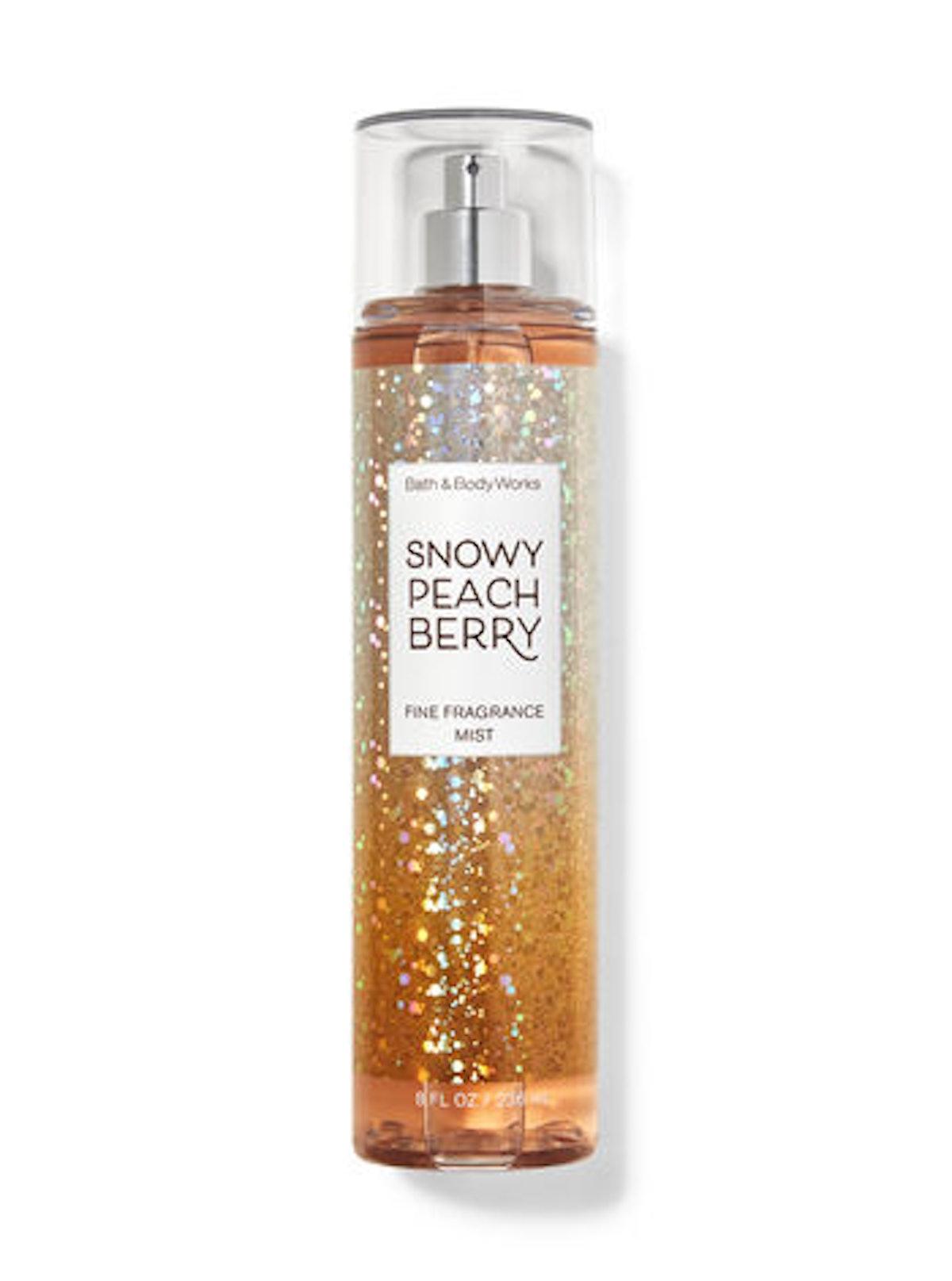 Snowy Peach Berry Fine Fragrance Mist