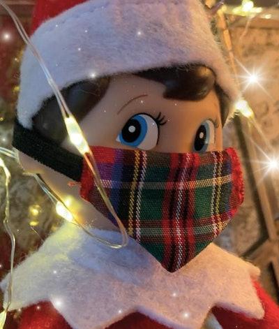 Sketchmydress Christmas ELF FACE Mask 2 pack