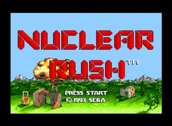 Nuclear Rush was a game for Sega's cancelled VR headset.