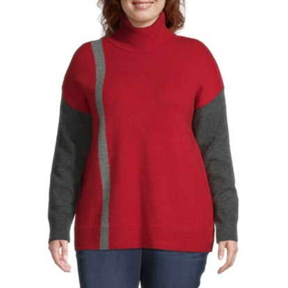 Liz Claiborne Colorbock Sweater