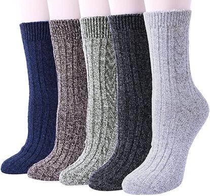 YSense Knit Socks (5-Pack)