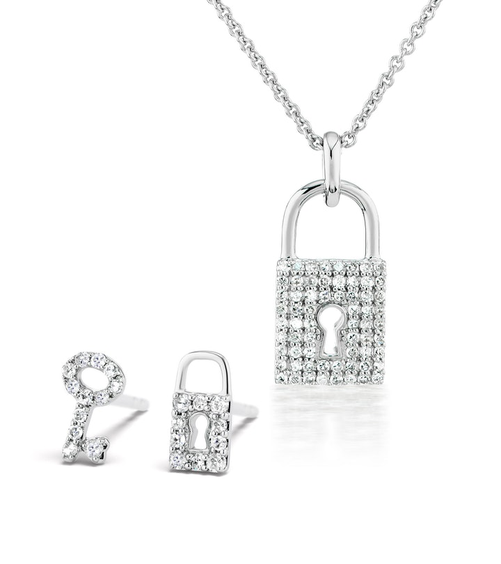 serena williams locket and key from the serena williams jewelry by my side collection
