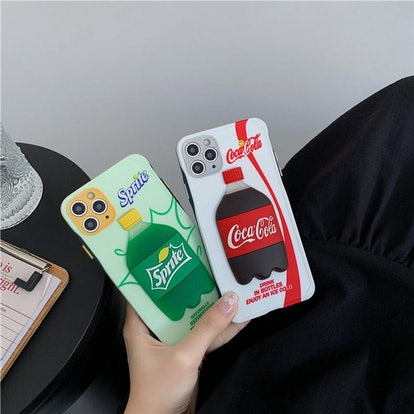 3D Sprite Cola-Cola iPhone 12 Mini Case