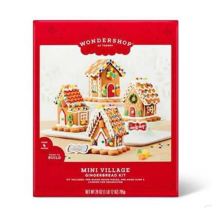 Holiday Mini Village Gingerbread Kit