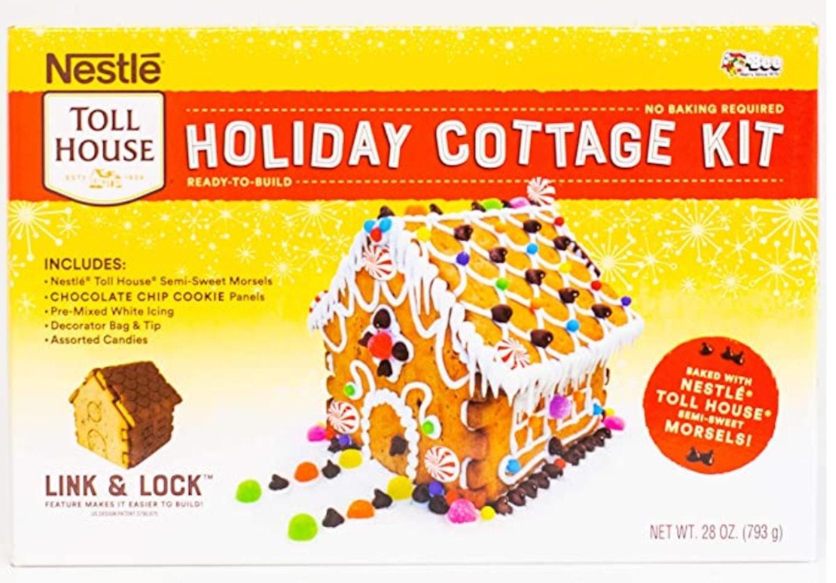 Nestle Holiday Cottage Gingerbread House Kit