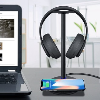 New Bee Wireless Charger with Headphone Stand