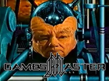 A screenshot of the show GamesMaster.