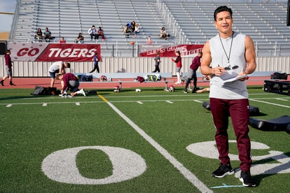 Mario Lopez as A.C. Slater in the 'Saved by the Bell' reboot via NBC's press site