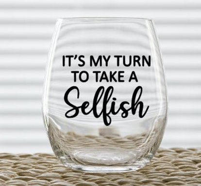 'Schitt's Creek' Wine Glass