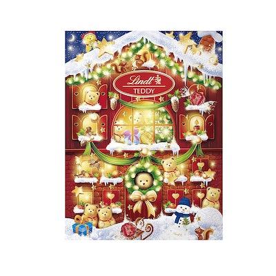 Lindt 2020 Holiday Teddy Bear Advent Calendar