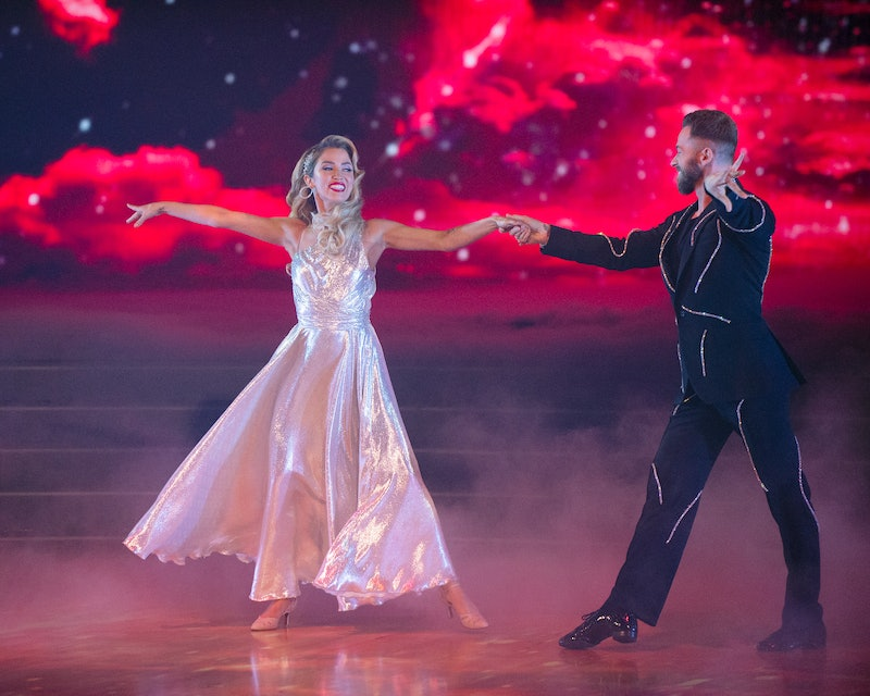 Kaitlyn Bristowe and Artem Chigvintsev on Dancing with the Stars via the ABC press site