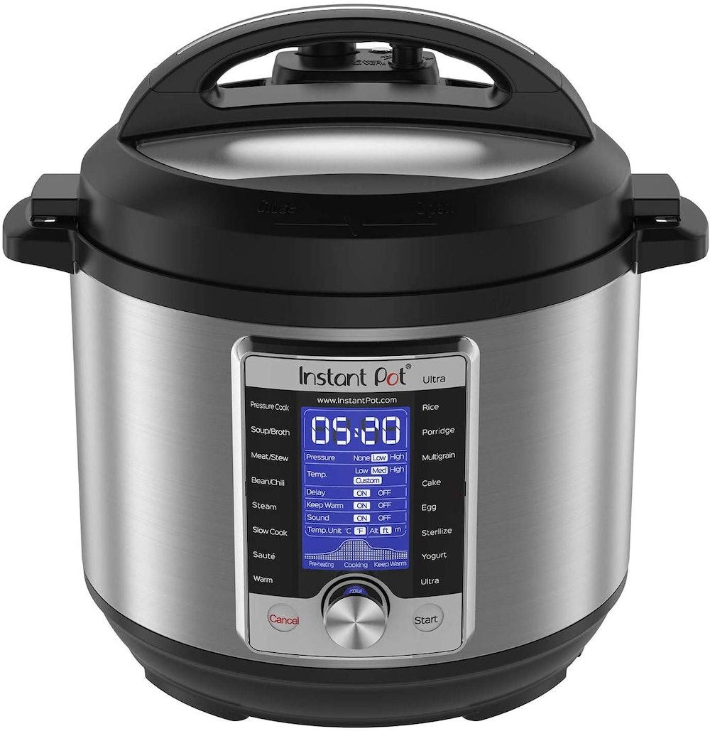 Instant Pot Ultra 10-in-1 Electric Pressure Cooker, 6-Quart