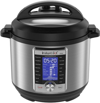 Instant Pot Ultra 10-in-1 Electric Pressure Cooker, 6-Quart