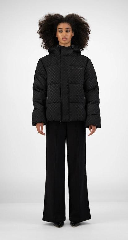 Black Hopuff Jacket