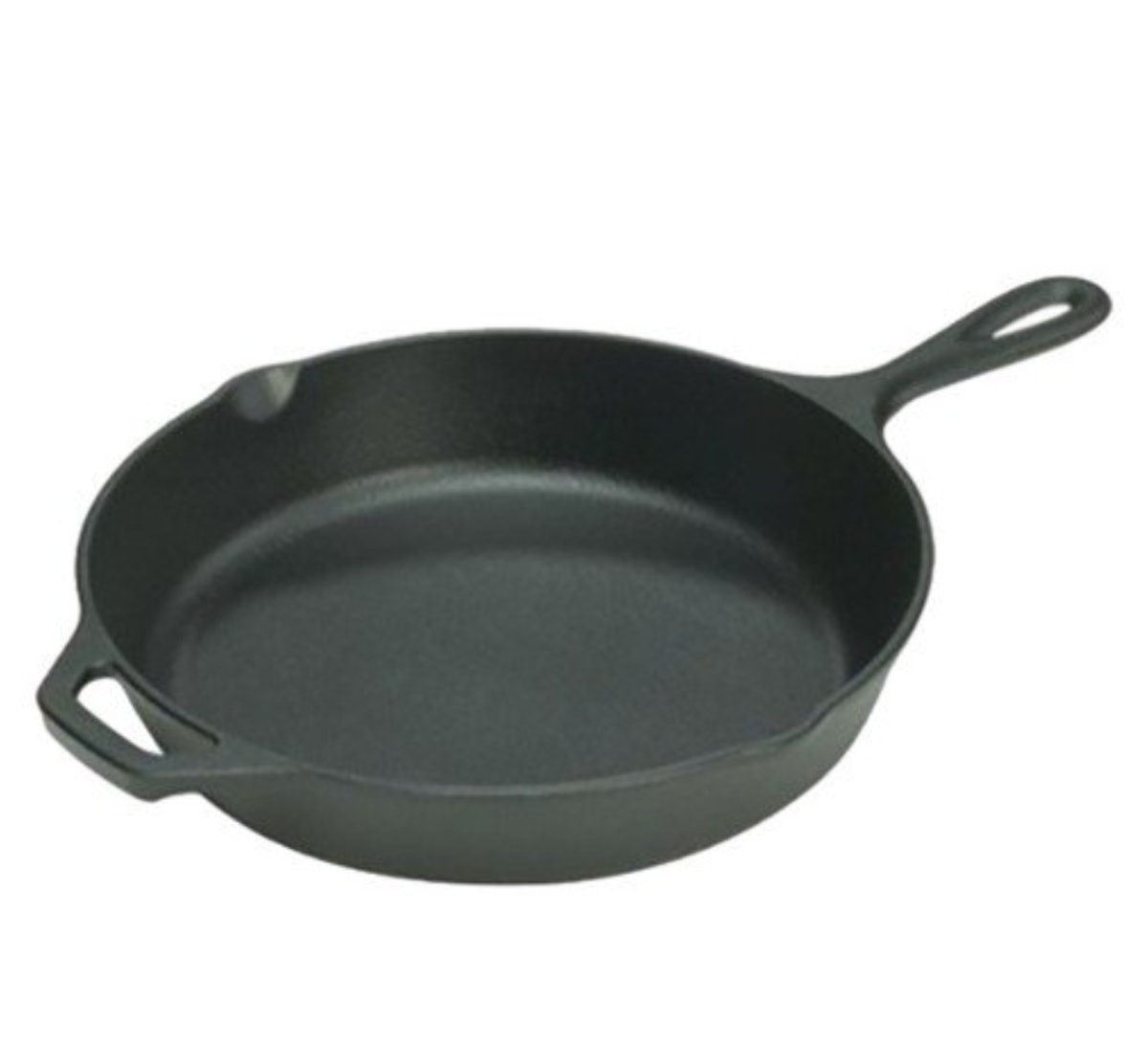 Lodge Pre-Seasoned 10.25 Inch Cast Iron Skillet with Assist Handle