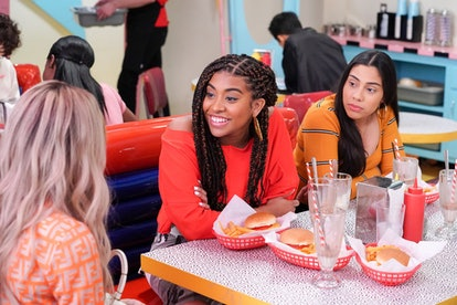 Alycia Pascual-Pena as Aisha in the 'Saved by the Bell' reboot via NBC's press site