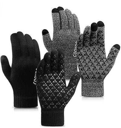 COOYOO Touchscreen Winter Gloves