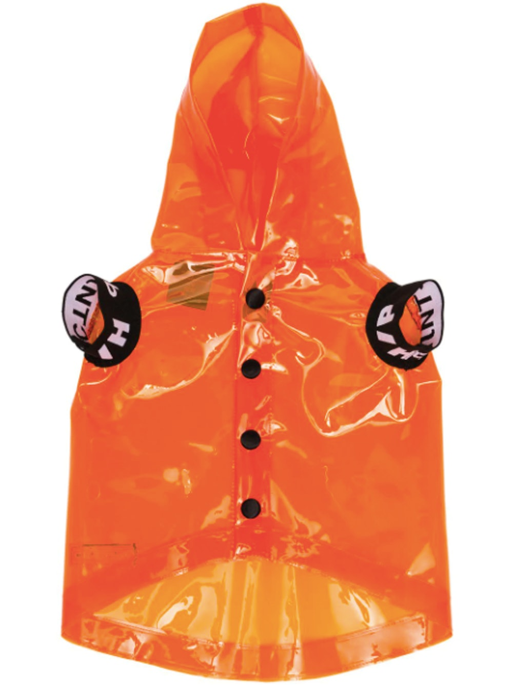 x V.I.P. transparent dog raincoat