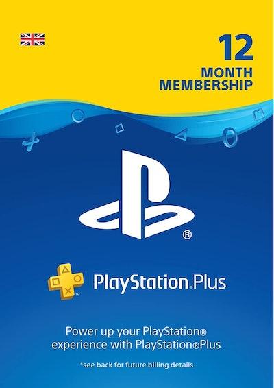 PS4 PlayStation Plus: 12 Month Membership