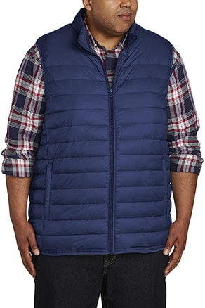 Amazon Essentials Big & Tall Puffer Vest  by DXL
