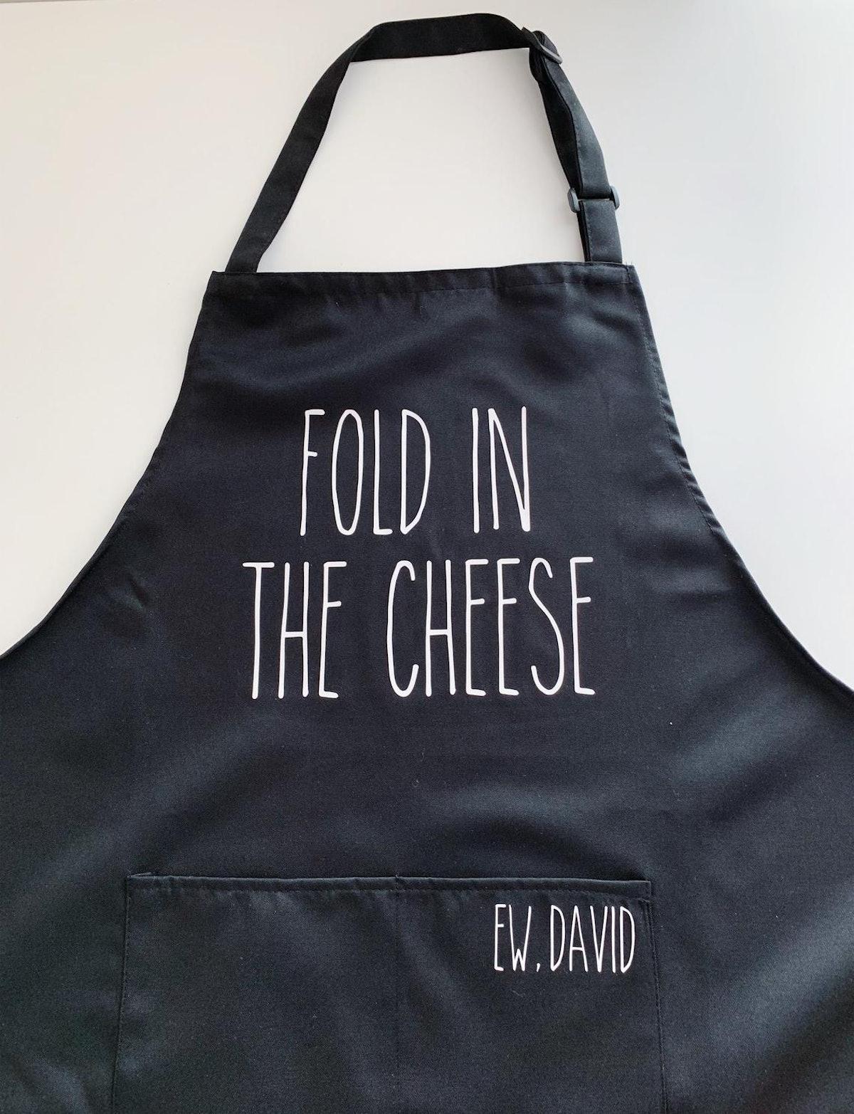 Fold In The Cheese 'Schitt's Creek' Apron