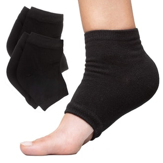 ZenToes Moisturizing Heel Socks (2-Pack)
