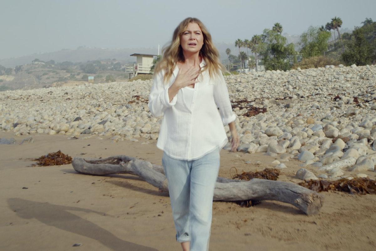 Ellen Pompeo as Meredith in Season 17 of 'Grey's Anatomy'