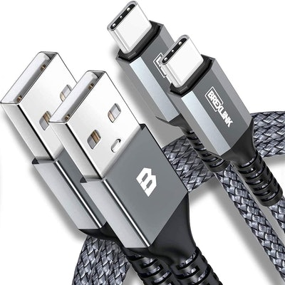 BrexLink USB-C Fast Charging Cable (2-Pack)