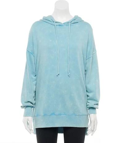 Juniors' SO Tunic Hoodie Sweatshirt