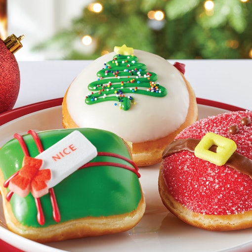 Krispy Kreme is releasing two new holiday doughnuts for 2020.