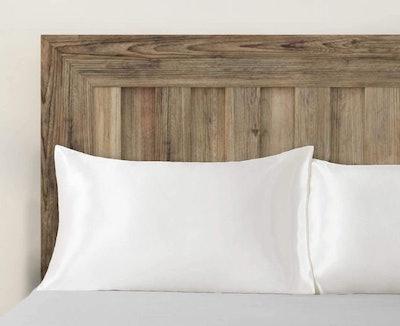 Bedsure Black Silk Pillowcases (Set of 2)